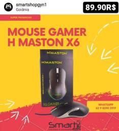 Mouse Gamer X6 Gaming