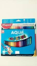 Lápis de cor maped aquarelável
