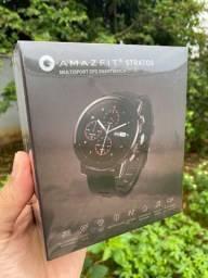 Amazfit (Xiaomi) Stratos GPS/Prova d'agua /Armazena musicas (novo)
