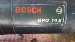 Politriz Bosch gpo 14e 1400w  220v com regulagem de velocidade
