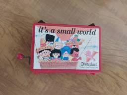 Título do anúncio: Its A Small World Caixinha de música oficial Disney Japão