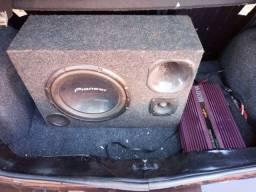 Caixa de som mais módulo 350