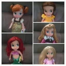 Bonecas Disney Animators Collection (fotos originais) ?Item de Colecionador?