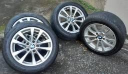 Rodas BMW R17 + pneus Bridgestone