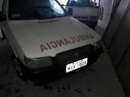 Fiorino furgão baú ambulância - 2005