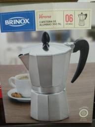 Cafeteira verona brinox de alumínio