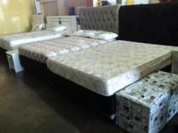 Mega Saldão de camas de casal box apertir de 399,00.