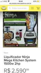 Liquidificador Ninja da Mega Kitchen Importado