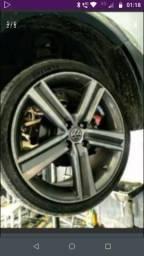 Vendo Roda aro 17 VW top,