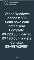 Vende-se Windows phone Z 535