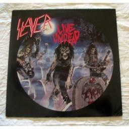 Disco Vinil Slayer Live Undead