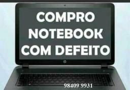 Comprarmos Notebook com defeitos