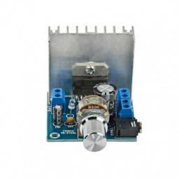 Amplificador De Áudio TDA7297 2x15W