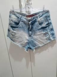 Vendo lote de shorts jeans novos. sem Lycra