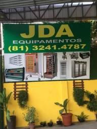 Conjunto de equipamentos para montar sua padaria