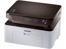 Impressora Multifuncional Samsung SL-M2070W - Laser Wi-Fi Preto e Branco