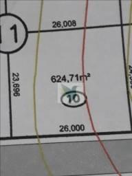 Terreno à venda, 624 m² por r$ 187.413 - rodovia do peixe