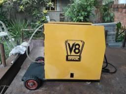 Máquina de solda Mig V8 220v