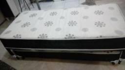 (P6) Bicama / Base box de solteiro com cama auxiliar. Ideal pra quem tem pouco espaço, o c