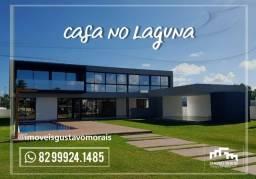 Casa no melhor condomínio de Alagoas (Laguna)