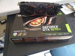 Placa de Vídeo GeForce® GTX 1070 Ti Gaming 8G RGB