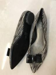 Sapato animal print NOVO