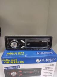 Radio Nacional E-tech com bluetooth