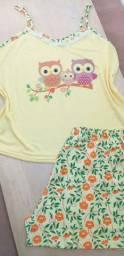 Pijamas é baby Doll