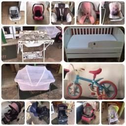Carrinhos /bebe-conforto/berço/banheira- tudo para seu bebê