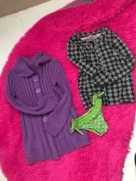 Lote de roupas menina