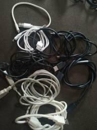 Cabos USB novinhos celular/impressora/ps3 comprar usado  Brasília