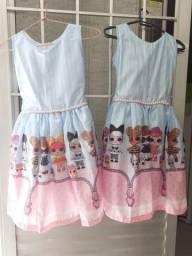 2 vestido da lol .100 reais cada um