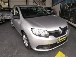 Renault Logan 1.0 Flex 2016 Completo ( Financiamos sem entrada )