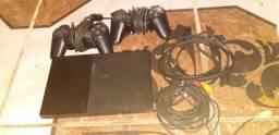Playstation 2   com  2 controles 220