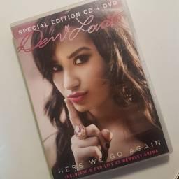 CD e DvD Demi Lovato Here We Go Again Edição Especial