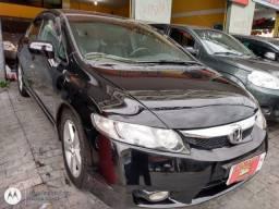 HONDA CIVIC 08 LXS AUTOMÁTICO COM  GNV COMPLETO