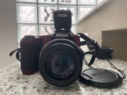 Câmera Nikon Coolpix L280 - Pouco usada