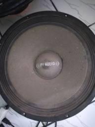 Três ALTO-FALANTES dois de 18 Selenium  d 600 um de 15 d 350 pvc audio