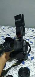 Nikon D90 com lentes