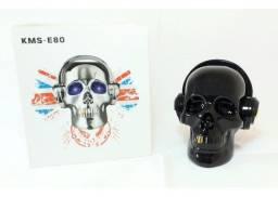 Caixa de som caveira kms-e80 Black - Acrilex