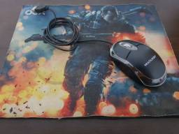 Mouse + mouse pad gamer