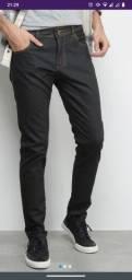 Calças Jeans Exco Resinada Skinny Masculina TAM 38