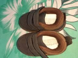 Sandálias masculina de criança
