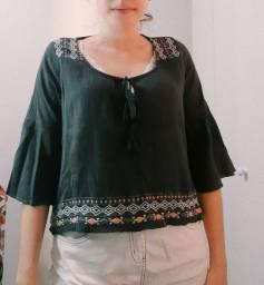 Blusa hollister - Tamanho S (P)