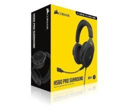 Headset Gamer Corsair HS60 Pro Surround 7.1 Carbon
