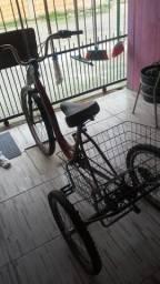 Bicicleta em perfeito estado.