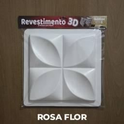 Forma para Gesso 3D - Pedra/Pétala/Dunas/RosaFlor/Diamante