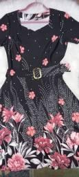 Vestido Midi Tamanho M