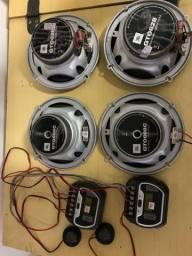 Kit JBL para carro - Troco por instrumentos