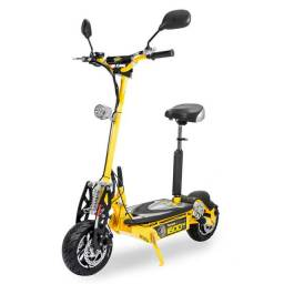 Patinete Elétrico Two Dogs 1600w Amarelo<br><br>